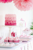 Dessert table — Stockfoto