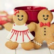 Gingerbread couple — Stock Photo #12962131