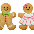 Stock Photo: Gingerbread family