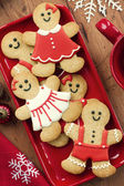 Gingerbread men — Stockfoto