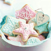 Boîte de cadeau de cookie — Photo