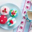 Summer tea party — Stock Photo #15793345
