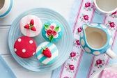 Lato tea party — Zdjęcie stockowe