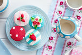 Summer tea party — Stockfoto