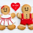 Gingerbread couple — Stock Photo #19336651