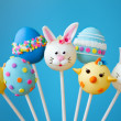 Foto Stock: Easter cake pops