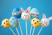 Easter cake pops — Photo