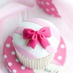 Cupcake gift — Stock Photo