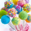 Stock Photo: Cake pops