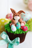 Easter bunny cupcake — Photo