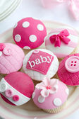 Baby shower cupcakes — Stockfoto