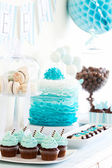Dessert table — Stock Photo