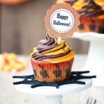 Halloween cupcake — Stock Photo #30559713
