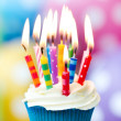 Birthday cupcake — Stock Photo #30559745