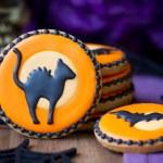 Halloween cookies — Stock Photo #30559749