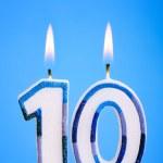 Birthday candles — Stock Photo #3367601
