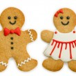 Gingerbread family — Stock Photo #35504757