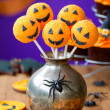 Stock Photo: Halloween cake pops
