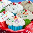 Cupcake cookies — Stock Photo