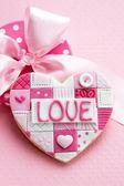 Alla hjärtans kaka — Stockfoto