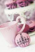 Chandelier cupcakes — Stock Photo