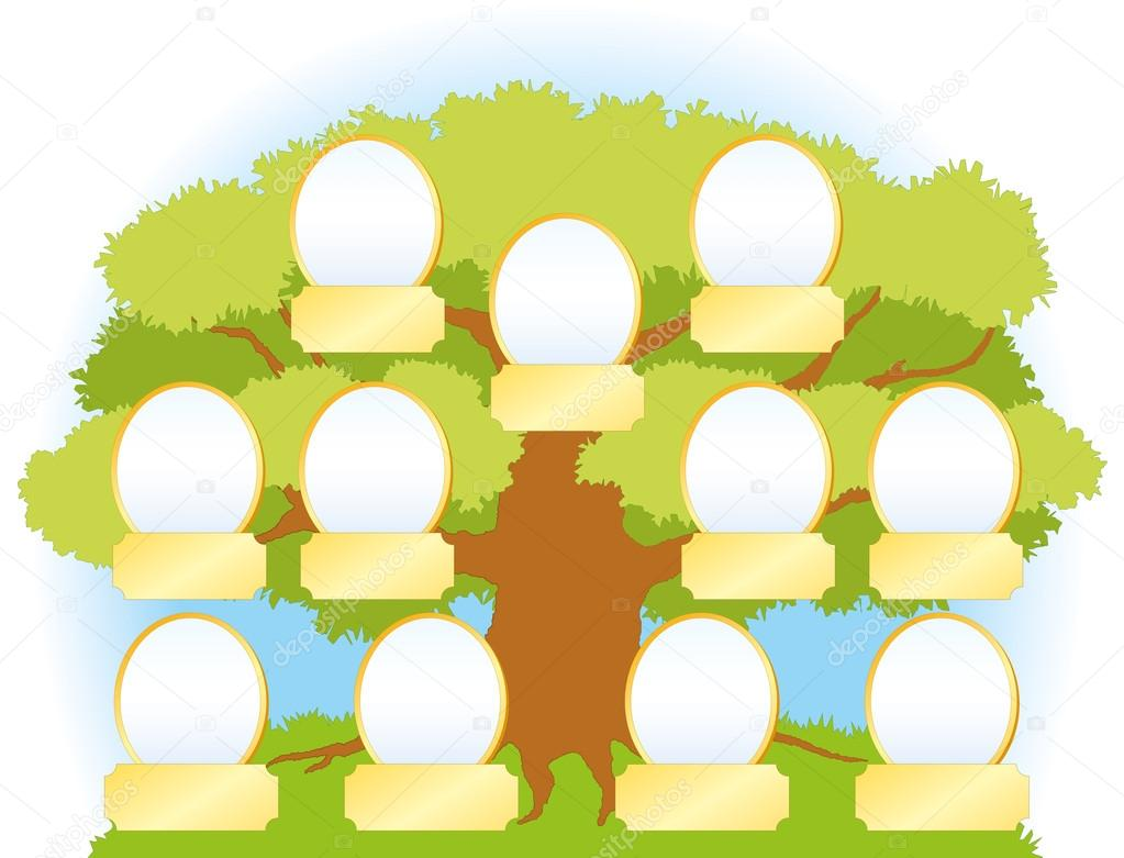 ... as well Palm Tree With Coconuts Clip Art. on frames family tree vector
