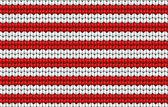 векторный фон. трикотажное полотно с белыми и красными полосами — Cтоковый вектор