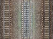 Seamless railroad Pattern, backdrop — Stock Photo