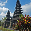 Balinese temple Pura Taman Ayun — Stock Photo