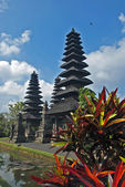 балийский храм pura таманского аюн — Стоковое фото