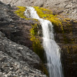 Nordic waterfall — Stock Photo