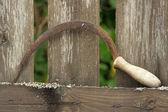 Oude hamer — Stockfoto