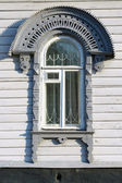 The window of an old house — Stok fotoğraf