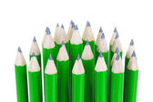 Green pencils — Stock Photo