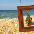 Royalty-Free Stock Photo: Christmas Tree and photographic frame