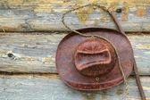 шляпа и хлыст — Стоковое фото
