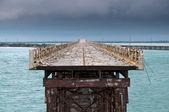 Bahia Honda rail bridge — Stock Photo