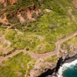Kahekili highway along Maui island coast — Stock Photo
