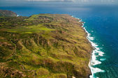 Molokai island coastline — Stock Photo