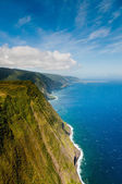 Coastline of Molokai island — Stock Photo