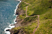 Kahekili highway along Maui island coast — Stock fotografie