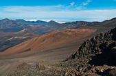 At the top of haleakala — Stock Photo