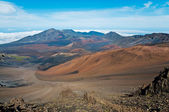 Colors of Haleakala crater — Stock Photo