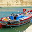 Stock Photo: Boat near fort of Bizerte, Tunisia