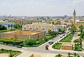 Overview of Monastir from the ribat, Monastir, Tunisia — Stock Photo