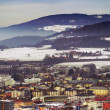 Stock Photo: View of Zalzburg from Kapuzinerberg, Austria