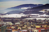 View of Zalzburg from Kapuzinerberg, Austria — Stock Photo