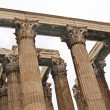 Stock Photo: Temple of Zeus at Athens, Greece