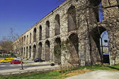 Valens Aqueduct (Bozdogan Kemeri) In Istanbul, Turkey — Stock Photo