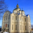 Orthodox church is built in 21 centuries. Cherkassy, Ukraine. - Stock Photo